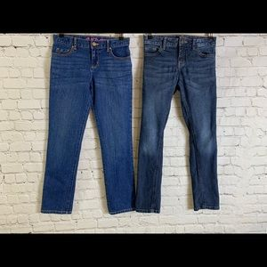 Two (2) Girls Skinny Jeans Size 12